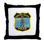 VA Beach PD SWAT Throw Pillow