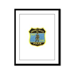 VA Beach PD SWAT Framed Panel Print