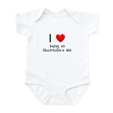 Electrician Infant Bodysuit