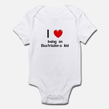 Electrician Infant Bodysuit
