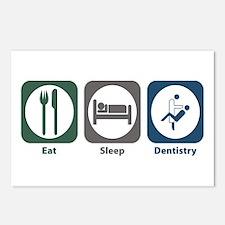 Eat Sleep Dentistry Postcards (Package of 8)