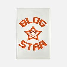 Blog Star Rectangle Magnet