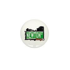 NEWTON ST, BROOKLYN, NYC Mini Button (10 pack)