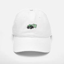 Green Monster Truck Baseball Baseball Cap