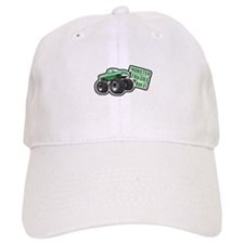 Green Monster Truck Baseball Cap