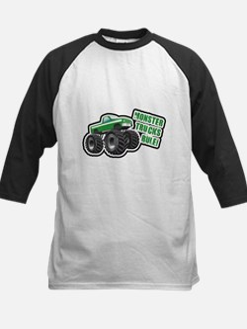 Green Monster Truck Tee