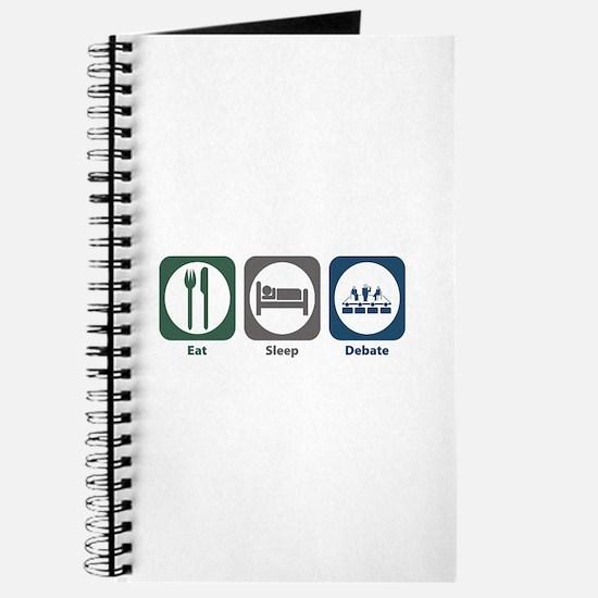 Eat Sleep Debate Journal