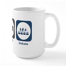 Eat Sleep Debate Mug
