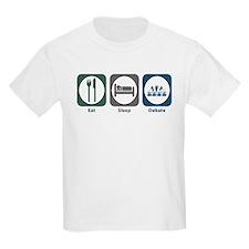 Eat Sleep Debate T-Shirt
