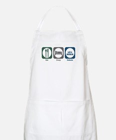 Eat Sleep Debate BBQ Apron