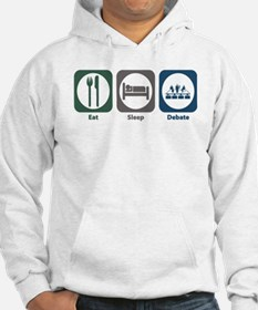 Eat Sleep Debate Hoodie Sweatshirt