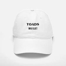 Toads Rule Baseball Baseball Cap