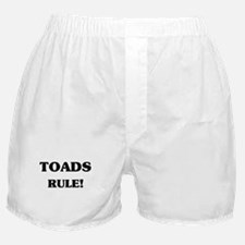 Toads Rule Boxer Shorts