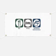 Eat Sleep Database Administration Banner