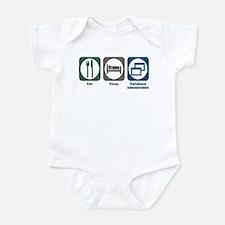 Eat Sleep Database Administration Infant Bodysuit
