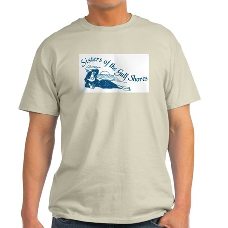 Sisters of the Gulf Shores Ash Grey T-Shirt