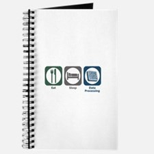 Eat Sleep Data Processing Journal