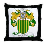 Varela Family Crest Throw Pillow