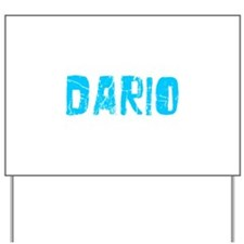 Dario Faded (Blue) Yard Sign