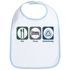 Eat Sleep Cytotechnology Bib