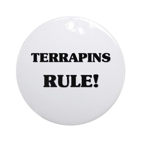 Terrapins Rule Ornament (Round)