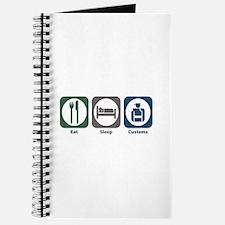 Eat Sleep Customs Journal