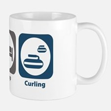 Eat Sleep Curling Mug