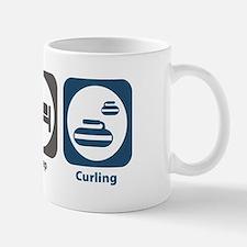 Eat Sleep Curling Mug