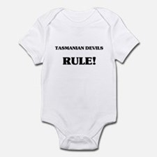 Tasmanian Devils Rule Infant Bodysuit
