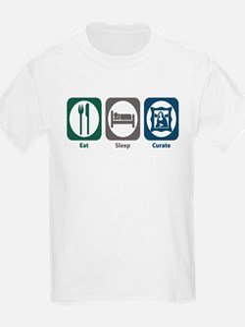 Eat Sleep Curate T-Shirt