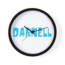 Darnell Faded (Blue) Wall Clock