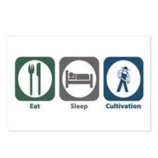 Eat Sleep Cultivation Postcards (Package of 8)