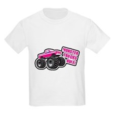 Pink Monster Truck T-Shirt
