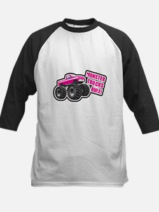 Pink Monster Truck Tee