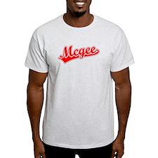 Retro Mcgee (Red) T-Shirt