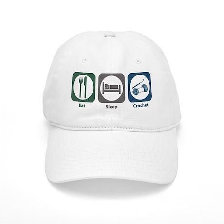 Eat Sleep Crochet Cap