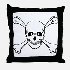 Skull & Crossbones Throw Pillow