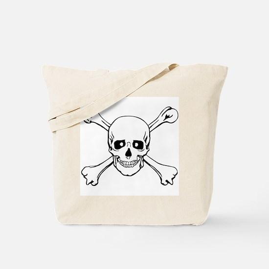 Skull & Crossbones Tote Bag