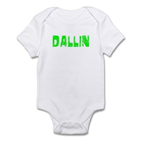 Dallin Faded (Green) Infant Bodysuit