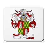 Vigil Family Crest Mousepad