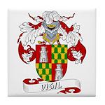Vigil Family Crest Tile Coaster