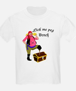Lick Me Peg Wench T-Shirt