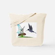 Hummingbird and Fairy Tote Bag