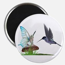 Hummingbird and Fairy Magnet