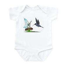 Hummingbird and Fairy Infant Creeper