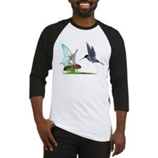 Hummingbird and Fairy Baseball Jersey