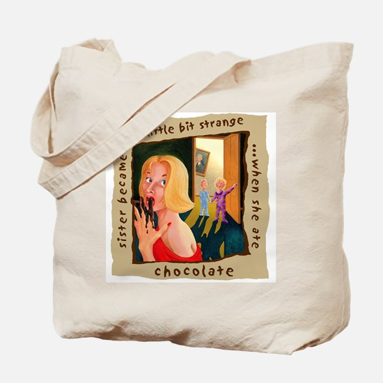 Sister Loves Chocolate Tote Bag