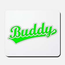 Retro Buddy (Green) Mousepad