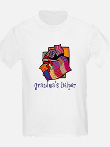 Grandma's Helper Quilting T-Shirt