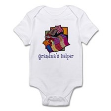 Grandma's Helper Quilting Infant Bodysuit
